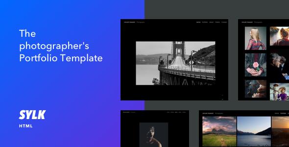 Sylk - Photography Portfolio HTML Template - Photography Creative