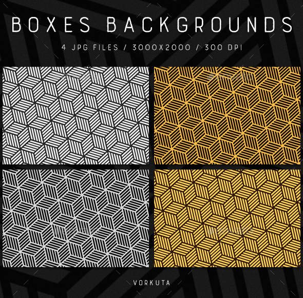 Boxes | Backgrounds - Patterns Backgrounds