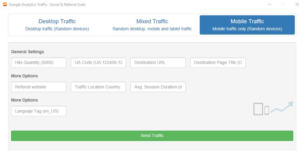 Google Analytics Traffic - Social & Referral Suite
