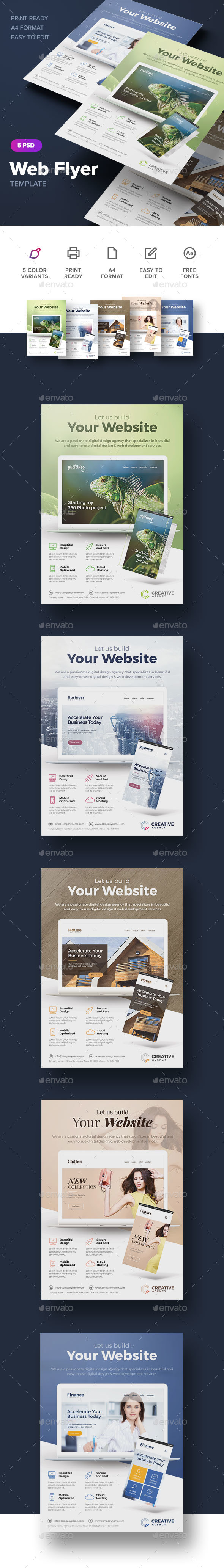 Web Flyer - Corporate Flyers
