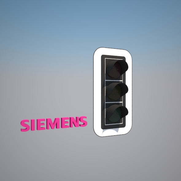 Traffic Light - Siemens 300 DE - 3DOcean Item for Sale