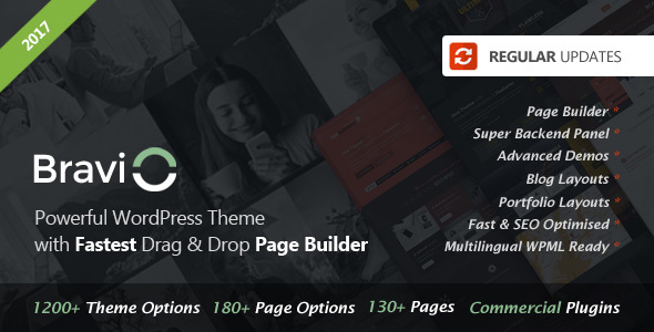 Bravio - Ultimate WordPress Theme - Business Corporate