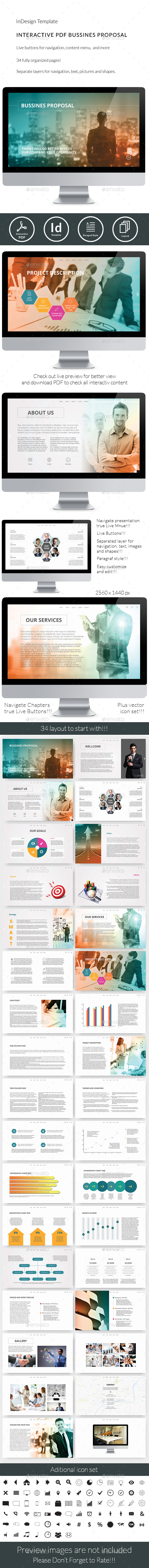 Interactive PDF Business Proposal No3 - ePublishing