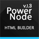 PowerNode - Multi-Purpose Landing Page With Page Builder Nulled