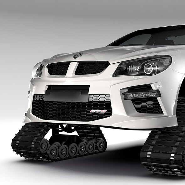 HSV GTS Maloo Crawler 2017 - 3DOcean Item for Sale