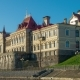 The Old Castle Museum in Rybinsk on the River Volga in the Summer - VideoHive Item for Sale