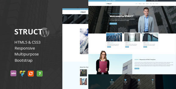 Struct - Responsive WordPress Theme - Business Corporate