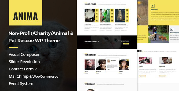 30 Best Animals and Pets WordPress Themes [sigma_current_year] 5