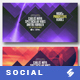 Electronic Music Party vol.14 - Facebook Post Banner Templates