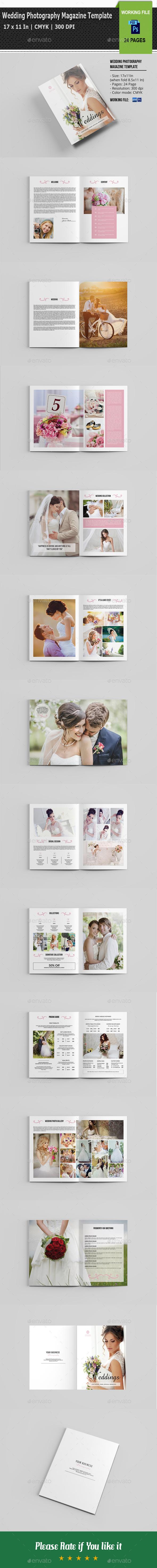 Wedding Photography Magazine / Brochure-V04 - Catalogs Brochures