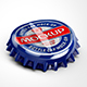 Metal Bottle Caps Mock-up - GraphicRiver Item for Sale