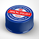 Plastic Bottle Caps Mock-up - GraphicRiver Item for Sale