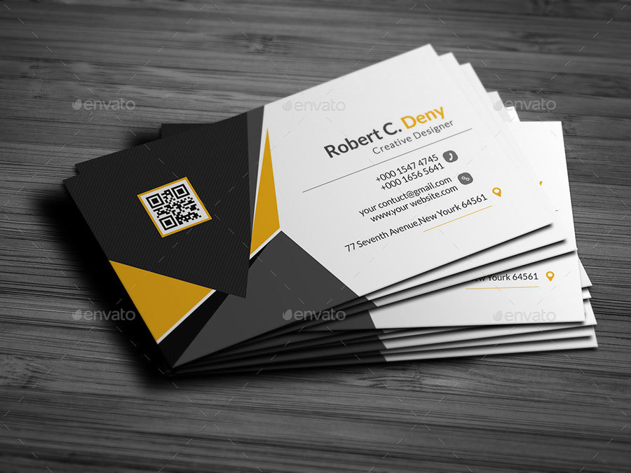 Business Card Bundle ( 2 In 1 ) by OMEGAXYLO | GraphicRiver