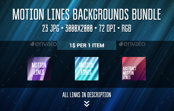 Motion Backgrounds Bundle - Abstract Backgrounds