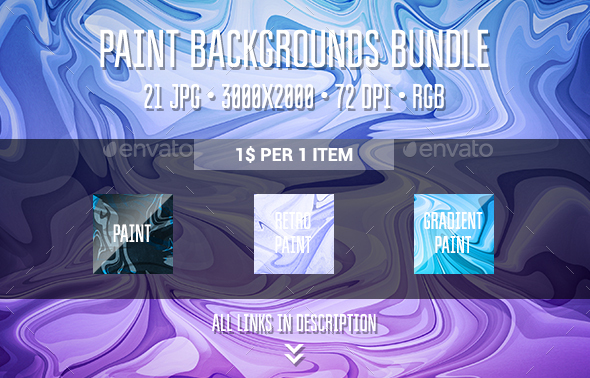 Pain Backgrounds Bundle - Abstract Backgrounds