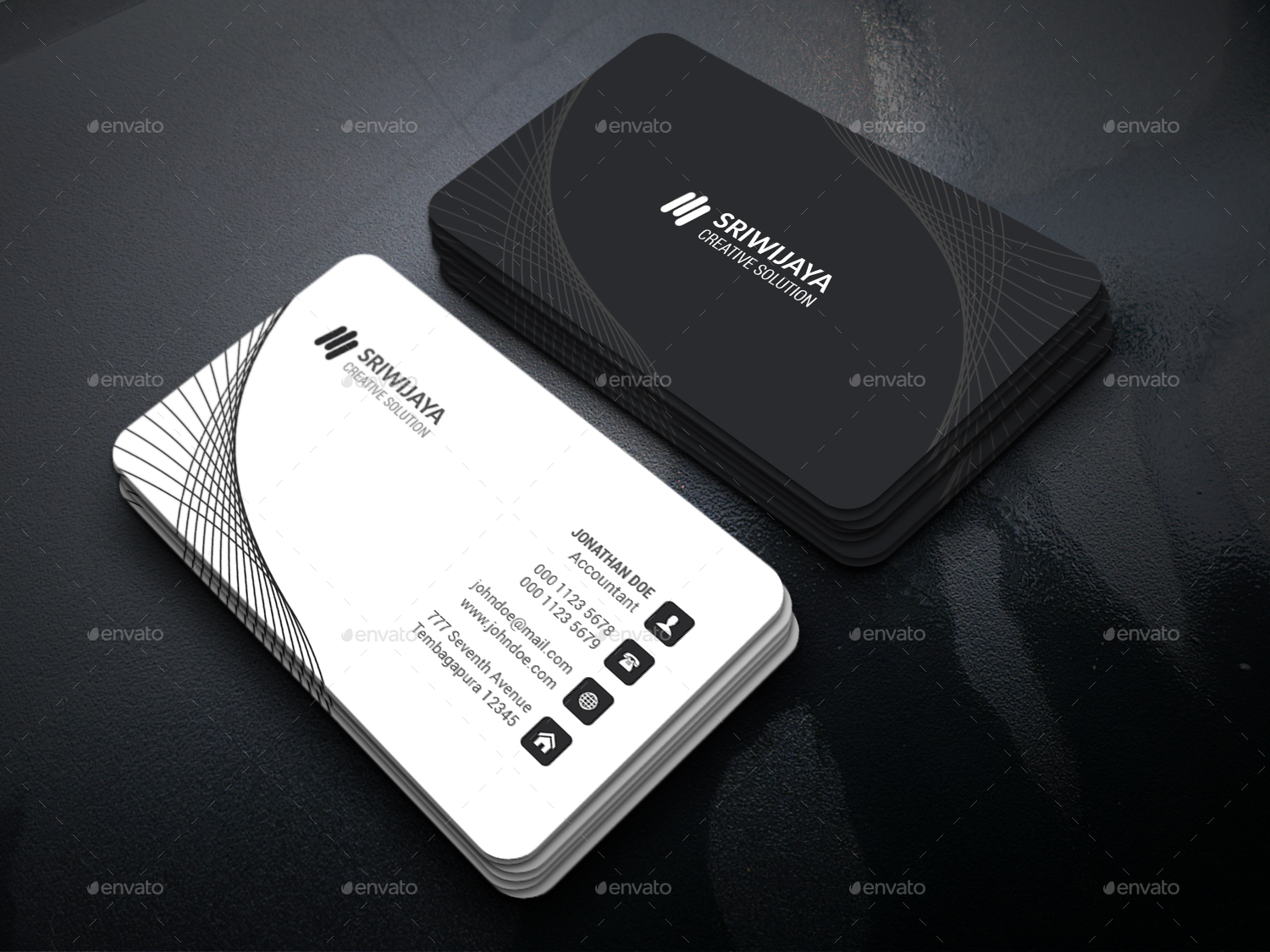 Business Card Bundle by GOWES | GraphicRiver
