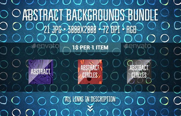 Abstract Backgrounds Bundle - Abstract Backgrounds