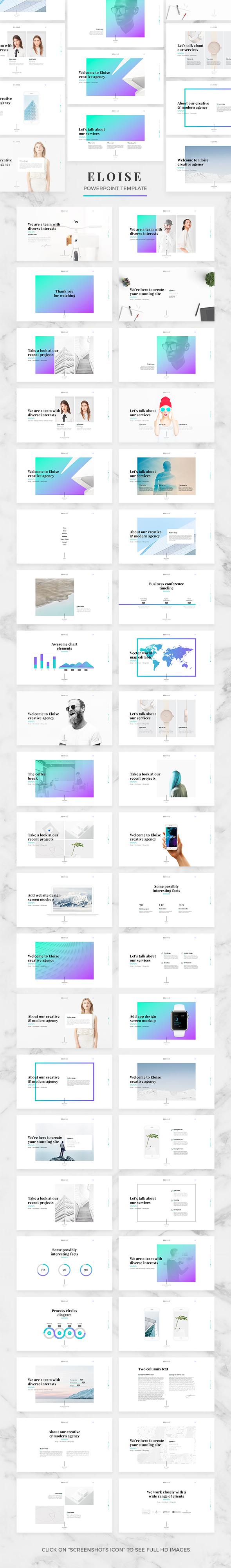 Eloise - Creative PowerPoint Template - Creative PowerPoint Templates