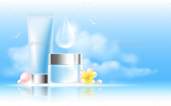 Cosmetic Creams - Health/Medicine Conceptual