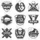 Vintage Vape Labels - GraphicRiver Item for Sale