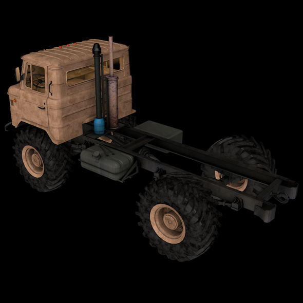 Army Truck - Full textures with sounds Engine