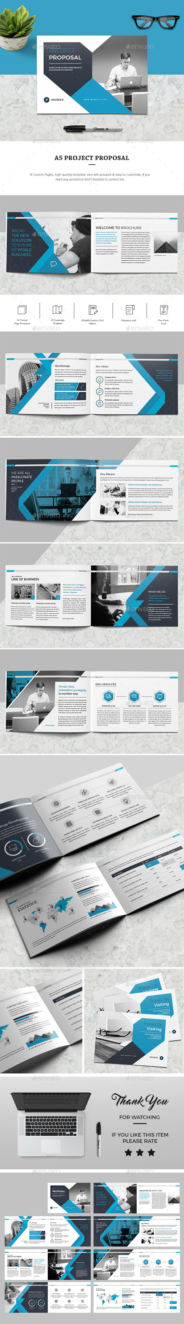 A5 Proposal - Corporate Brochures
