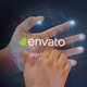 Interactive Hand Hologram Opener - VideoHive Item for Sale