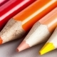 Video of Colored Pencils Lying in a Row on a White Table - VideoHive Item for Sale