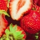 of Strawberries with Two Halfs in the Center Spinning in Circles - VideoHive Item for Sale