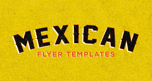 Mexican Flyer Templates