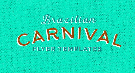 Brazilian Carnival Flyer Templates