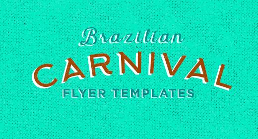 Brazilian Carnival Flyer Templates