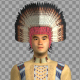 Native American Young Chief - VideoHive Item for Sale