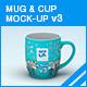 Mug & Cup Mock-up v3 - GraphicRiver Item for Sale