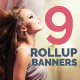 9 Roll-Up Banners Design - GraphicRiver Item for Sale