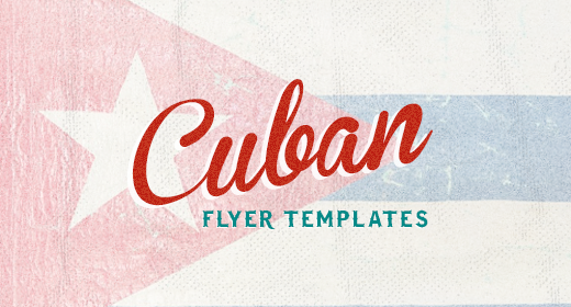 Cuban Flyer Templates
