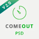 ComeOut – Coming Soon Multipurpose PSD Template - ThemeForest Item for Sale