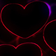 Neon Hearts Background - VideoHive Item for Sale