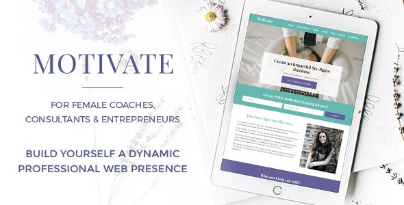 Motivate - For Female Coaches, Consultants & Entrepreneurs