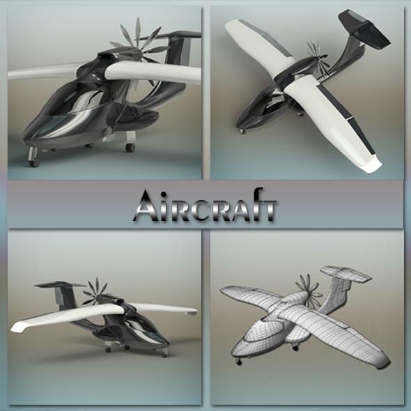 Aircraft - 3DOcean Item for Sale