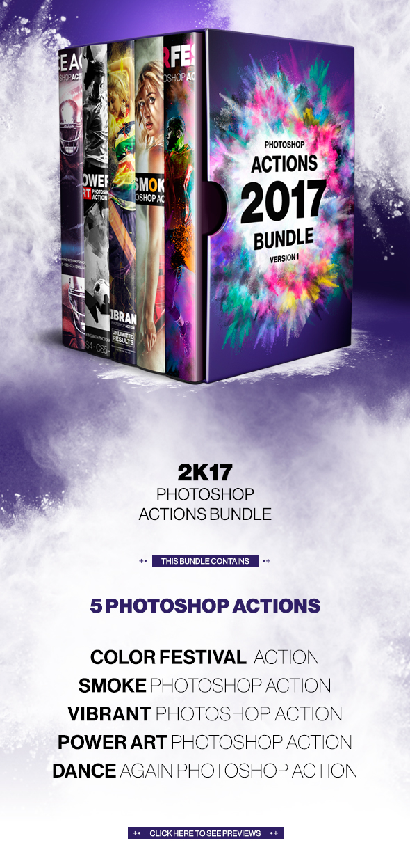 2017 Actions Bundle - Vesrion 1 - Photo Effects Actions