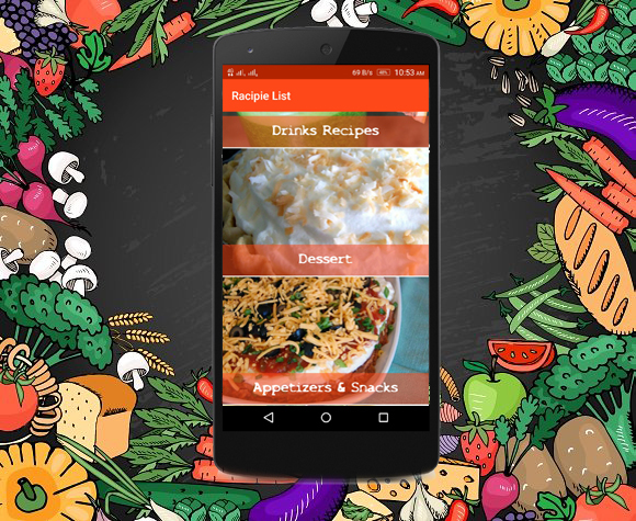 Android recipe app for cooking full code with php admin panel by screenshotscreen1g forumfinder Image collections