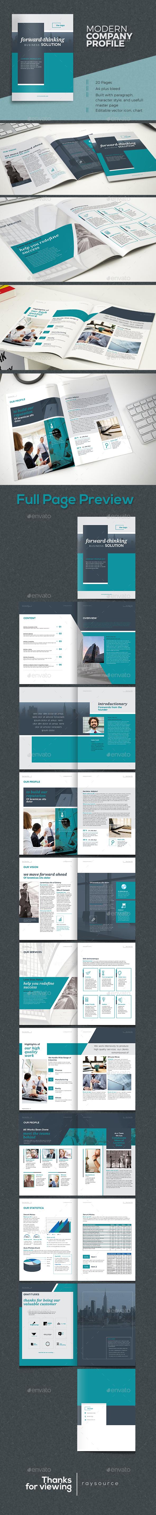 Elegant Company Profile - Corporate Brochures