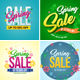 Spring Banner Set 2 - GraphicRiver Item for Sale