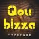 Qoubizza Typeface - GraphicRiver Item for Sale