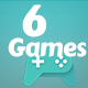 Best 6 Games Bundle-4 HTML5 Mobile Games(capx) - CodeCanyon Item for Sale