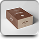 Cake Box Mock-up - GraphicRiver Item for Sale