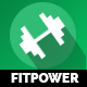 Fitpower One Page Muse Template - ThemeForest Item for Sale
