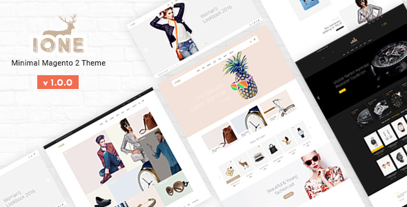 iOne – Fastest & Most Customizable Minimal Magento 2 Theme