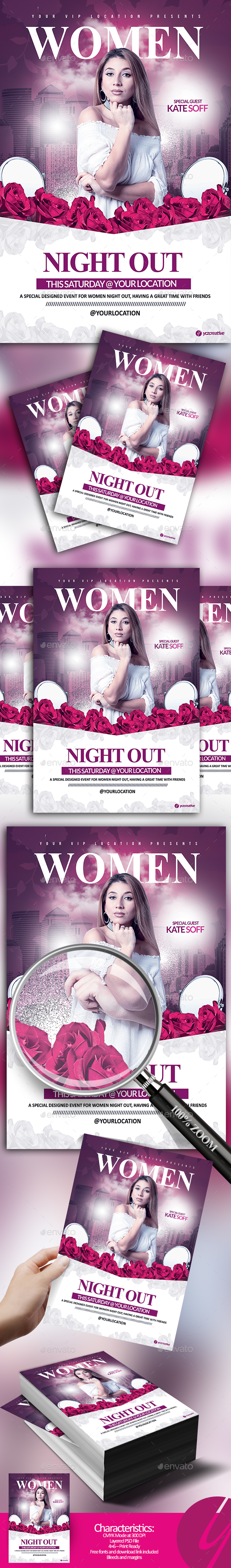Women Night Out - Clubs & Parties Events